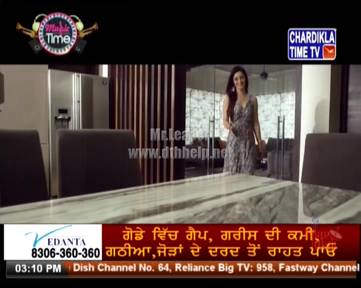 DD Free Dish adds Chardikla Time TV channel on tp 11550 V